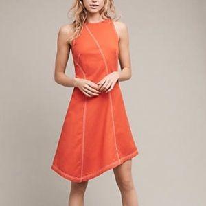 Anthropologie Asymmetrical Dress